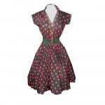 Skye Rocknroll Dress Black Red Spot.jpg